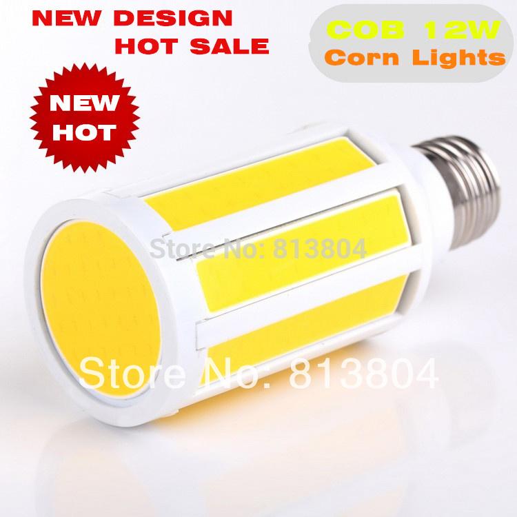 Free Shipping 12W 10W 7W COB SMD corn led lamps E27 E26 bulb home light 220V 240V 110V white 10pcs/lot(China (Mainland))