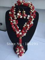 2015//G :New Design Coral jewelry set #005