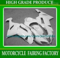 All glossy white motorcycle Fairings Kawasaki 2007 2008 Ninja ZX6R freeship plastic bodywork fairing kit ZX-6R 07 08 with 7 gift