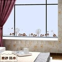 Small wall stickers wallpaper tv background wall sofa wall decoration waistline m286