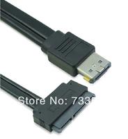 Power Over eSATAp eSATA to SATA 22 pin Adapter Cable 2.5 3.5 HDD 12V 5V Power