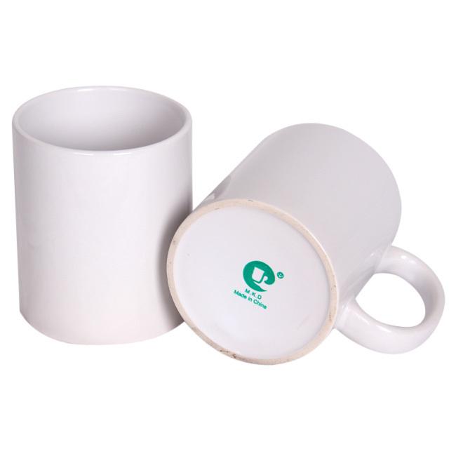 AAA+ quality ceramic white mugs DIY heat sublimation mugs(China (Mainland))