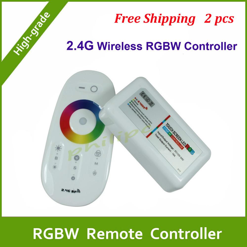 RGB контролер Phlipc DHL 2.4g RGBW & RGBW DC 12V 24V rgbw-01