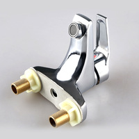 free shipping Plumbing Hardware Electric copper basin faucet basin faucet hot and cold taps speed hot