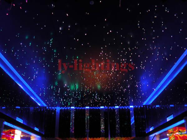 Deckenleuchte Sternenhimmel Led : diy deckenleuchte bausatz ledlicht +100pcs glasfaser farbwechsel