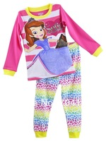 Hot-selling sofia 100% cotton sofia the first princess children's clothing,sleepwear,baby pajamas, pajamas set, kids nightwear