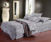 Home Decoration Classic White Black Zebra Printe Pure Cotton Bedding Set Duvet Cover Bed sheet Pillowcase Queen