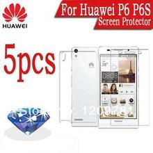 5pcs Mobile phone Diamond Sparkling Huawei Ascend P6 Screen Protector.Sale Huawei P6 Screen LCD Protective Film.Huawei P6 P2 P1