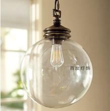 glass ball pendant light promotion