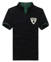 Free shipping 2014 new fashion summer casual men t shirt short sleeve slim t-shirt for men M/L/XL/XXL 4 colors
