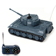 New 1:72 49MHz R/C Radio Remote Control Tiger Tank 20M Kids Toy Gift(China (Mainland))
