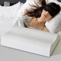 Natural latex pillow cervical pillow repair of the cervical health pillow natural