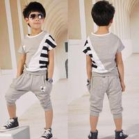 2 3 4 - - - - - 5 6 7 - 8 male child 2014 summer set fashion child set british style set