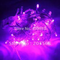 10M Purple 100 LED Light String 220V Light strip Christmas Decoration Fairy Wedding Party free shipping