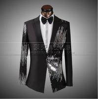 2014 terno casamento groom suit custom tuxedos for men men high quality mens sequin clothing set plus size wedding suits for men