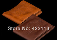 2014 famous brand carteira impresso vintage designer wallets Crazy horse leather purse dollar price Free shipping
