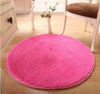 80cm----Diameter Round fashion super soft carpet/floor rug/area rug/ slip-resistant mat/doormat/bath mat