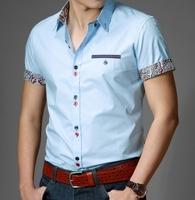 Heilanhome short-sleeve shirt slim casual formal fashion commercial shirt short-sleeve men's clothing