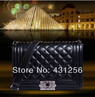 2015Hot sell famous brand new Women's handbag le boy plaid vintage chain bag leboy women handbag bag classic style Free shipping