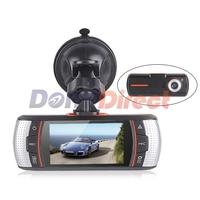 2014 Newest F90G Car DVR Camera H.264 Dual Camera+GPS Logger+HD 1920x1080p 20FPS+2.7' LCD+External IR Rear Camera+Allwinner CPU