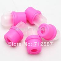 10Pcs Wearable Nail Acrylic Soaker Kits Polish Remover Gel Removal Cap Tip