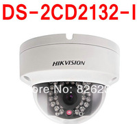 Lowest Price Free shipping Hikvision CCTV Camera Dome Camera 3MP support POE network mini IP camera DS-2CD2132-I
