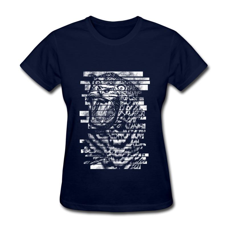 Женская футболка HIC t leopard Womans t HIC_13735 женская футболка hic worldcup t 1 hic 3498