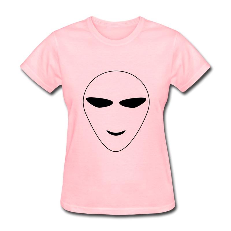 Женская футболка HIC Creat t happyalien t HIC_3385 женская футболка hic t hic 9153
