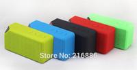 Portable Jambox Style X3 Bluetooth speaker with Mic wireless bluetooth speaker for iPhone iPad Samsung mini speaker FM radio