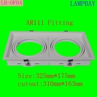 AR111 fitting double head ar111 fitxture