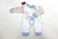 Baby 100% cotton long-sleeve bodysuit clothing creepiness child 100% cotton one piece underwear sleepwear