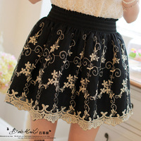 2014 new Lace skirt princess skirt