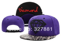 Diamond Sensation! Free shipping Adjustable men woman cap snapback hat hip hop cap wholesale hats 100%COTTON baseball CAPS