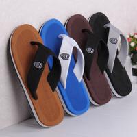 Male flip flops flip slip-resistant male slippers beach slippers trend