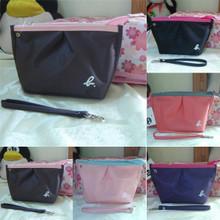 free shipping Ag high quality thickening nylon waterproof bag dumplings cosmetic bag small bags storage bag new 2014 brand bag(China (Mainland))