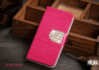 6 Colors Wood Leather Phone Case For Zopo ZP980 C2  With Card Holder Diamond Flip Cover for zopo zp980 c2 mobile phone cases