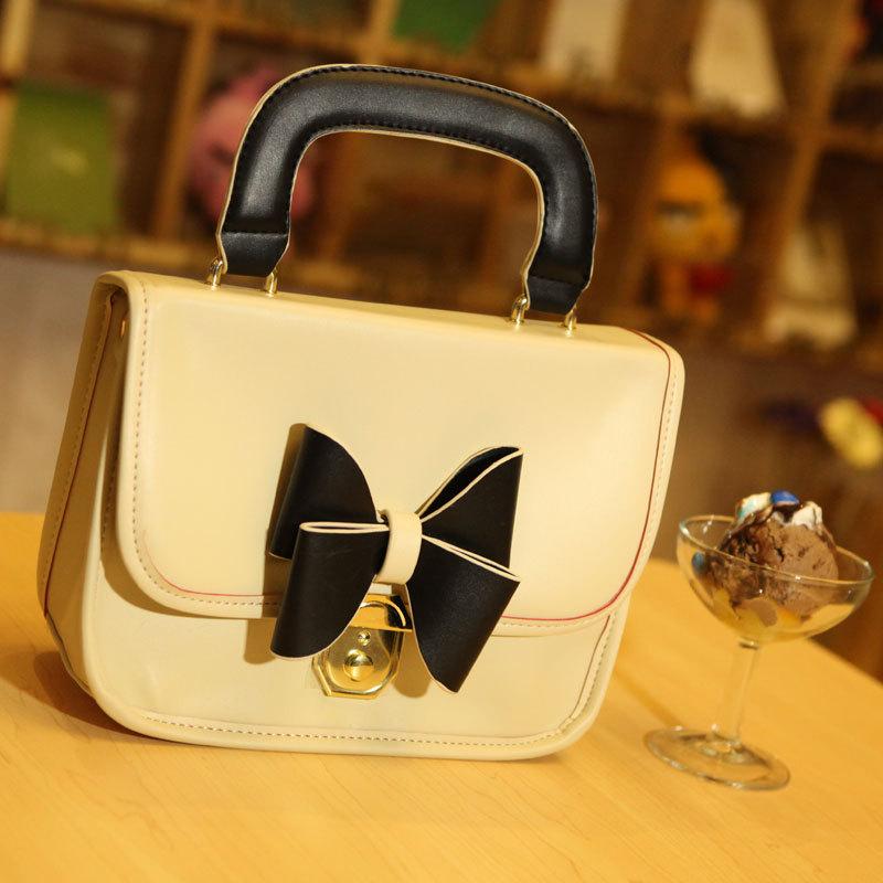 free shipping Mikko2013 spring fashion bow princess handbag vintage the beautiful woman bags ad1057(China (Mainland))