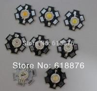 10pcs 1W 3W High Power LED light bead emitter, Red, Green, Blue, Yellow, RGB,white(neutral White), Warm White, Cool White