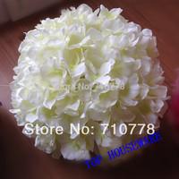 6C available artificial hydrangea  flower ball pincushion wedding ball kissing ball wedding supermarket deoration hangings
