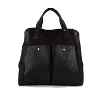 2014 shoulder bag black classic all-match women's canvas messenger bag handbag big bags