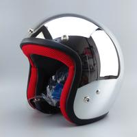 Free shipping/Motorcycle helmet/  retro helmet/ Silver plating jet helmet/Top level open face helmet