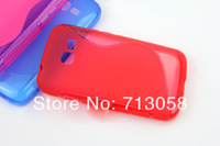 Free shipping 1pcs S tpu case cover for Samsung GT-S7262 S7260 Galaxy Star Pro with excellent quality different colours