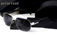 The latest Luxury brand metal polarized sunglasses for men driver mirror SPR52 men's black box driving polarized sunglasses