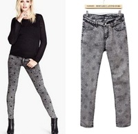 Fashion women's fashion all-match skinny jeans