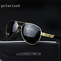 New designer brand men's ultralight polarized sunglasses special chauffeur-driven mirror for men 390