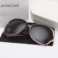 New high quality women's star models big box UV brand designer polarized sunglasses for women SK094