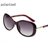 New fashion women's full frame retro simple 8202 brand designer polarized sunglasses for women