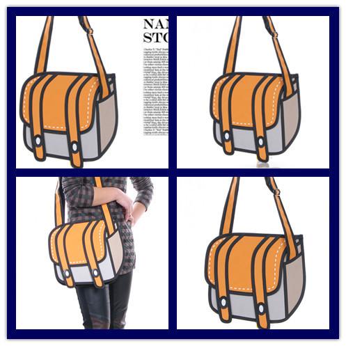 Designer Shoulder Bags Women Handbags Girl' Large Cute School Bag Children Outdoor Messenger bag Ladies Purse Leisure new bags(China (Mainland))