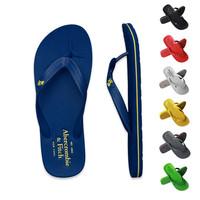 2014 Summer Men Flip flops , Quality Men Sandals, Rubber Soloe Male Slippers .7 Color Beach shoes , 40 - 44 Size Men Sandals