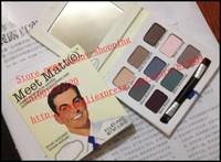 2014 New - 10 pcs meet maat 9 colors eyeshadow palette 9.5G makeup! happy-shopping